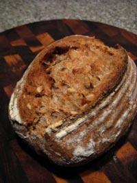 2 Seed Whole Wheat Sourdough