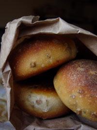 Organic sourdough bread