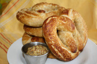 Sourdough Whole Wheat Pretzels