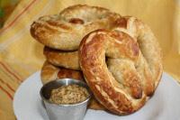 Sourdough Whole Wheat Pretzels