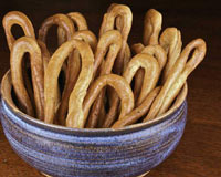 Fennel and Pepper Taralli