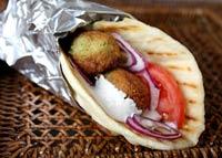 Daring Cooks Mezze with pita bread