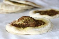 Manoushi Bread With Za'atar and Sumac