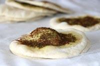 Manoushi Bread With Za'atar and Sumac
