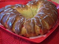 Lacy Valentine Bread