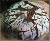 three-stage-progress Rye Bread with Seeds