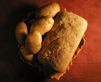 Potato Rye Bread