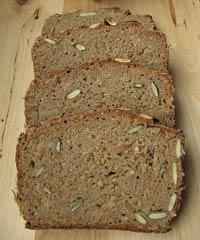 100 % Rye Sourdough with Whole Grains