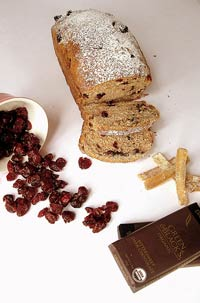 Chocolate and Fruit Spiced Bread
