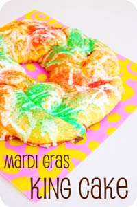 Mardi Gras King Cake