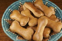 Sourdough Dog Biscuits