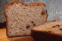Gluten-free Cinnamon Raisin Bread