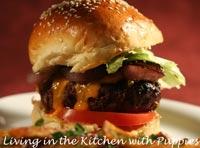 BBA's White Bread, variation #1, burger buns