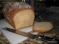 Honey Whole-Wheat Bread