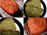 Pesto and Pine Nut bread