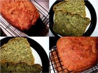 Pesto and Pine Nut bread