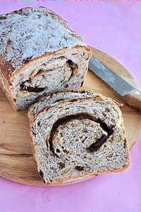 Cinamon Raisin Pecan nut bread
