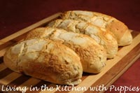 Vienna Bread with Dutch Crunch Topping