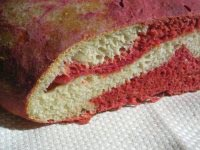 Psychedelic Dill Beet Bread