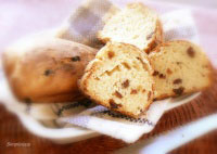 Mini Milk Honey Raisins White Loaf