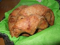 No knead -Avocado-onion Croissant- HBin5