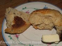 Finnish Cardamom Bread (pulla)