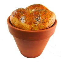 Flower Pot Bread
