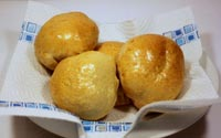 Stuffed pizza-dough Buns