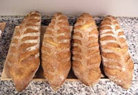 Pain au Sarrasin (Buckwheat Bread)
