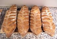 Pain au Sarrasin (Buckwheat Bread)