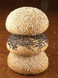 Sourdough Whole Wheat Hamburger Buns