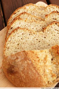 Twin bread with 5 grain flakes and buttermilk