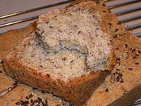 No Knead Gluten Free Hearty Seeded Sandwich Loaf