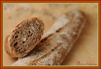 Baguettes 100% céréales complètes