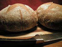 Rye Bread with Guinness Stout and Fennel Seeds