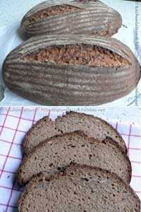 Baker Süpke's Black beer bread
