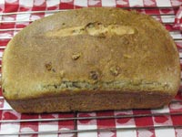 Elle's Whole Wheat Seeded Walnut Bread