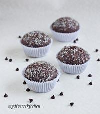 Chocolate-Coffee Cupcakes (Bread)