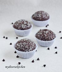 Chocolate-Coffee Cupcakes (Bread)
