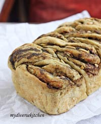 Pesto-Pine Nut Bread