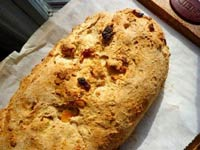 Oatmeal Bread with Apricots and Almonds