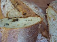 Fig, Anise, Pine Nut and Blue Cheese Sourdough