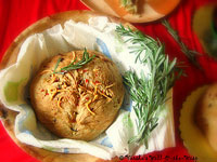 Savory Rosemary-Cheddar Bread