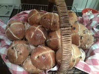 Hybrid Hot Cross Buns