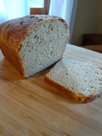 Whole Wheat Oatmeal Sourdough Bread