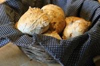 Sourdough rosemary rolls