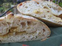 Rustic Roasted Garlic Bread