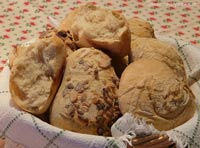 no-knead buns