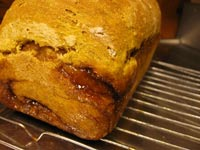 Swirled Pumpkin Yeast Bread
