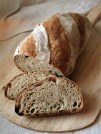 Rustic Bread (Hamelman's) for MellowBakers.com